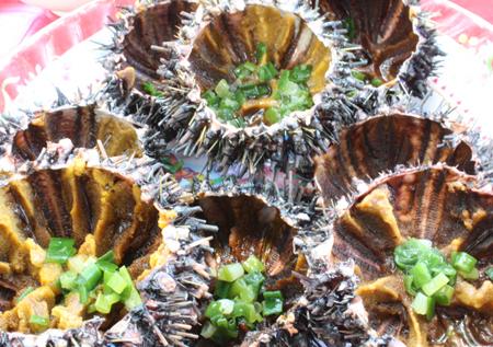 Món nhum bổ dưỡng ở Phú Quốc