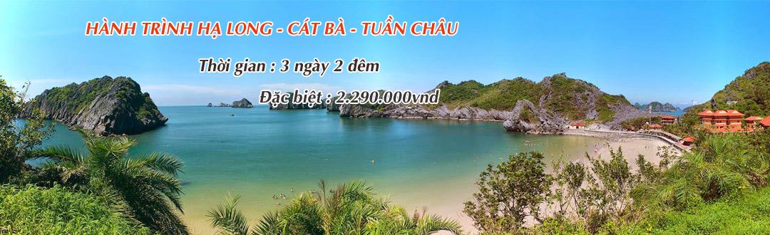 Du lịch Hạ Long - Cát Bà - Tuần Châu
