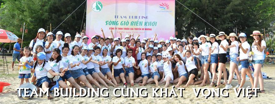 Team Building tại Cát Bà cùng Khát Vọng Việt
